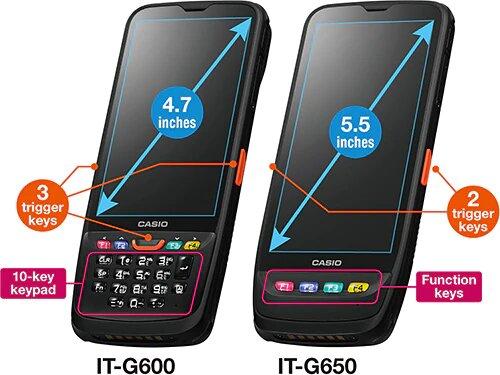 Casio IT-G600 và G600