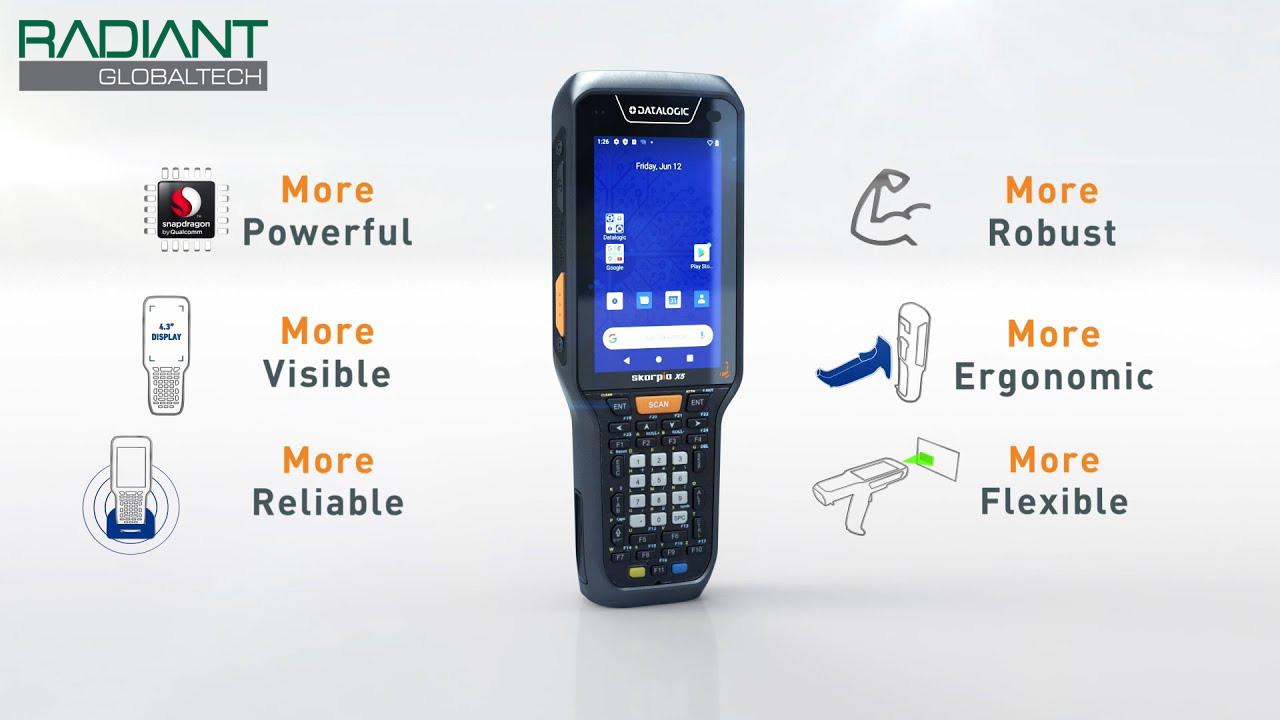 Datalogic Skorpio X5 Radiant Global